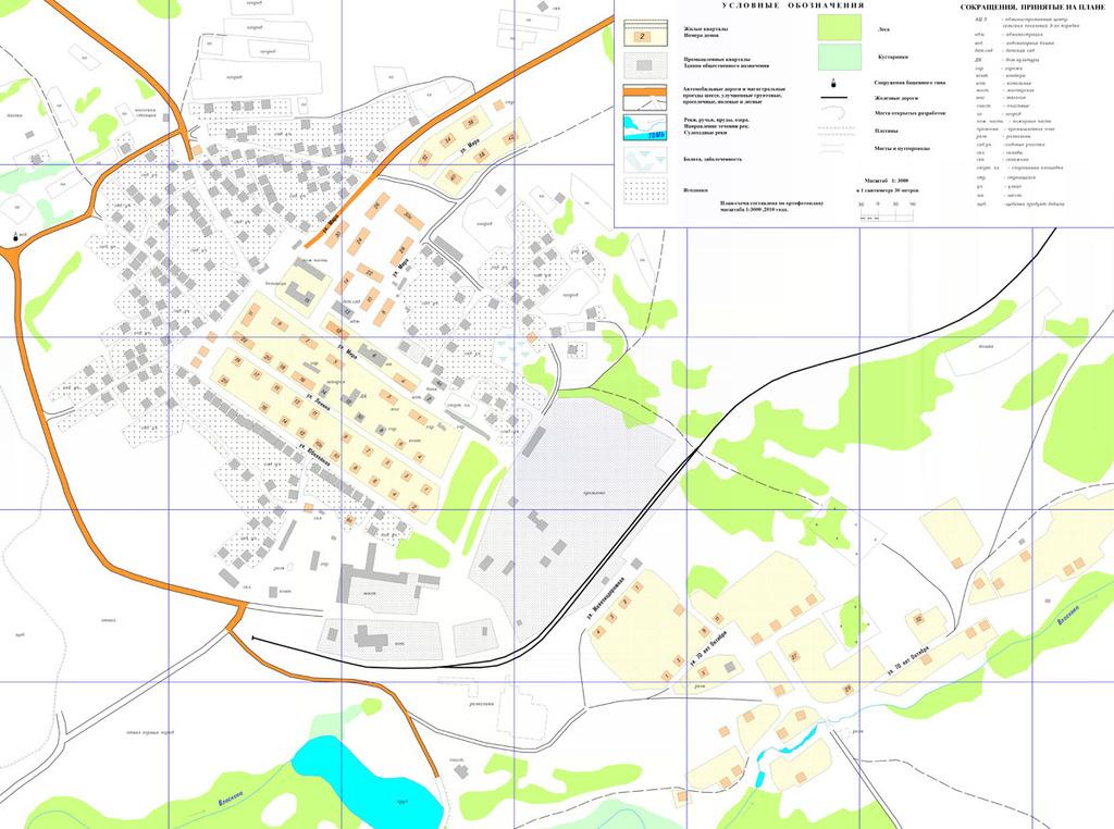 Карты, схемы Яшкинского района